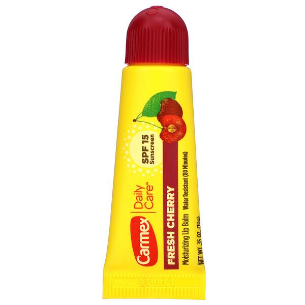 Daily Care, увлажняющий бальзам для губ, вишня, SPF15, 10г (0,35 унции)