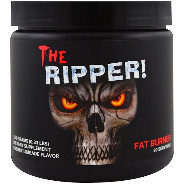JNX Sports, The Ripper, сжигатель жира, вкус вишни и лайма, 150 г (0,33 фунта) (Discontinued Item)