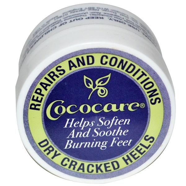 Cococare, Средство для восстановления и кондиционирования сухих и потрескавшихся пяток, 11г