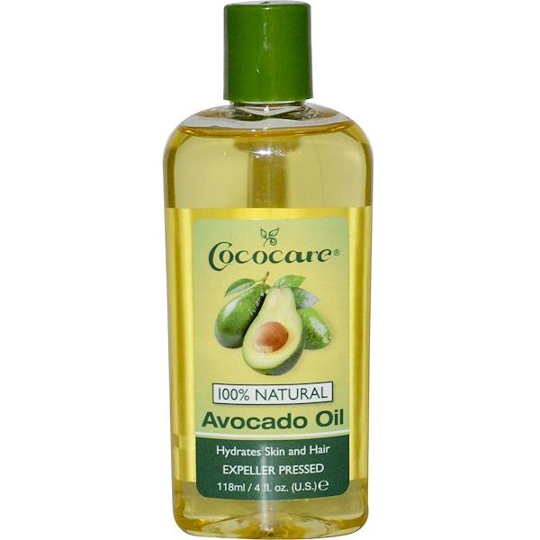 Масло авокадо, 4 жидких унций (118 мл)
