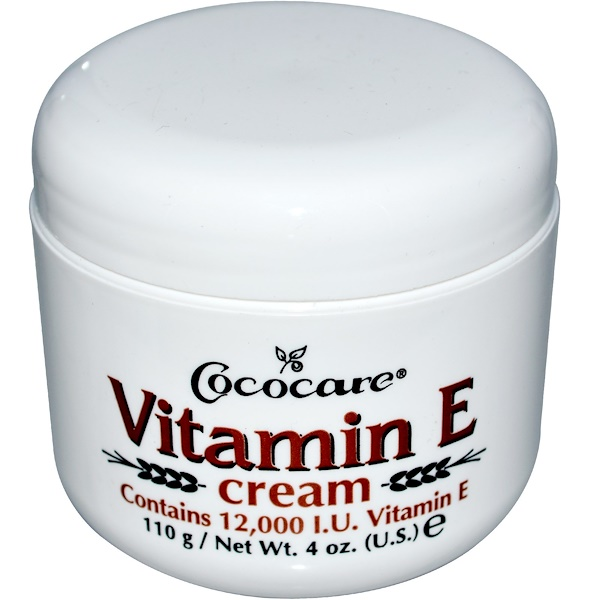 Крем с витамином Е, 12 000 МЕ, 110 г (4 унции)
