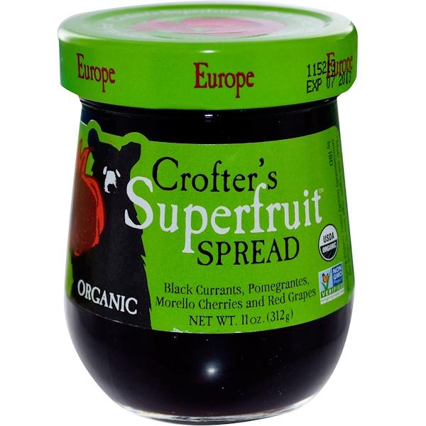 Crofter's Organic, Organic, Superfruit Spread, Europe, 11 oz (312 g) (Discontinued Item)