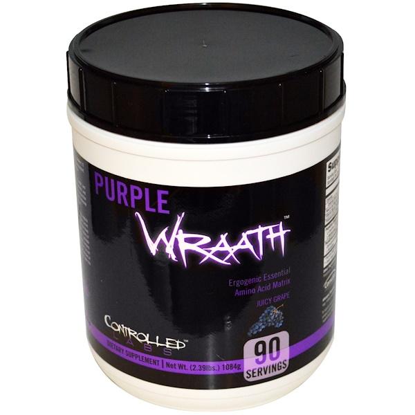 Controlled Labs, Purple Wraath, сочный виноград, 1084 г