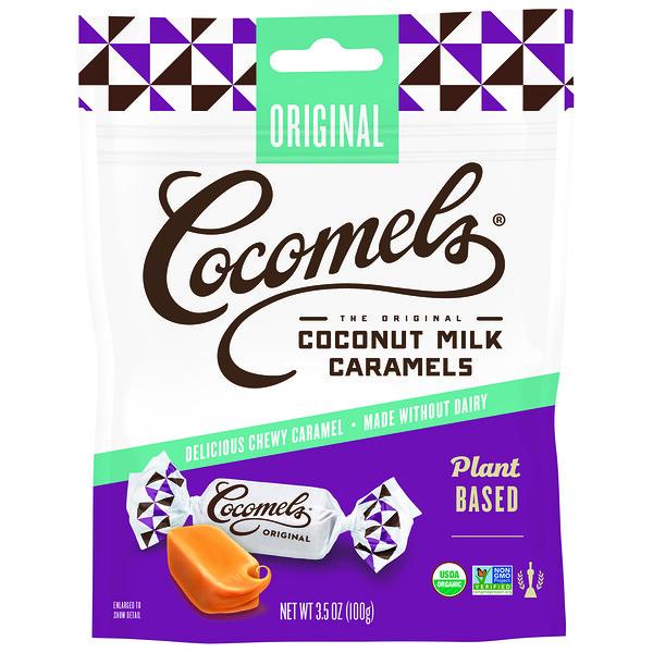 Органическая карамель с кокосовым молоком, оригинальная, 3,5 унц. (100 г)