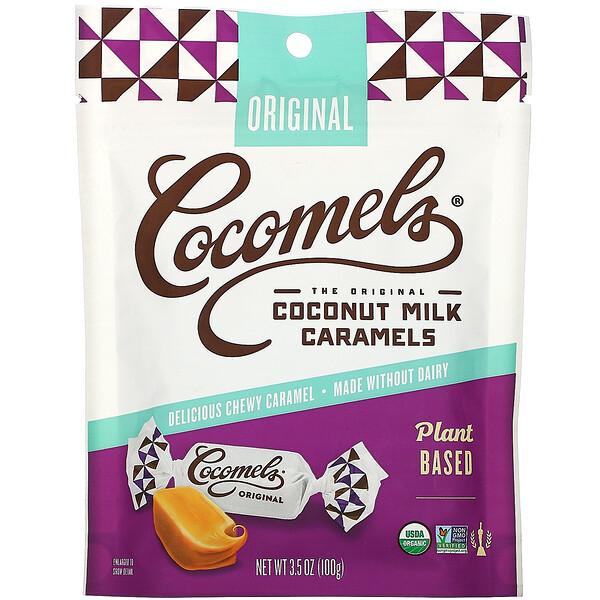 Cocomels, Coconut Milk Caramels, Original, 3.5 oz (100 g)