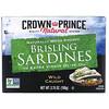 Crown Prince Natural, Шпроты в оливковом масле первого отжима, 3,75 унции (106 г)