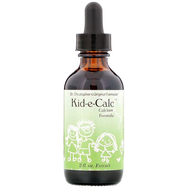 Kid-e-Calc, кальциевая формула, 2 жидких унции