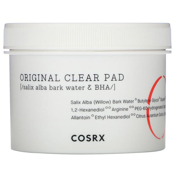 Cosrx, One Step,  Original Clear Pad, 70 Pads, (4.56 fl oz)