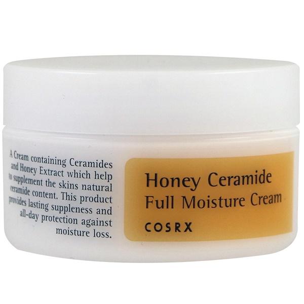 Cosrx, Медовый увлажняющий крем с керамидами, 50 мл (Discontinued Item)