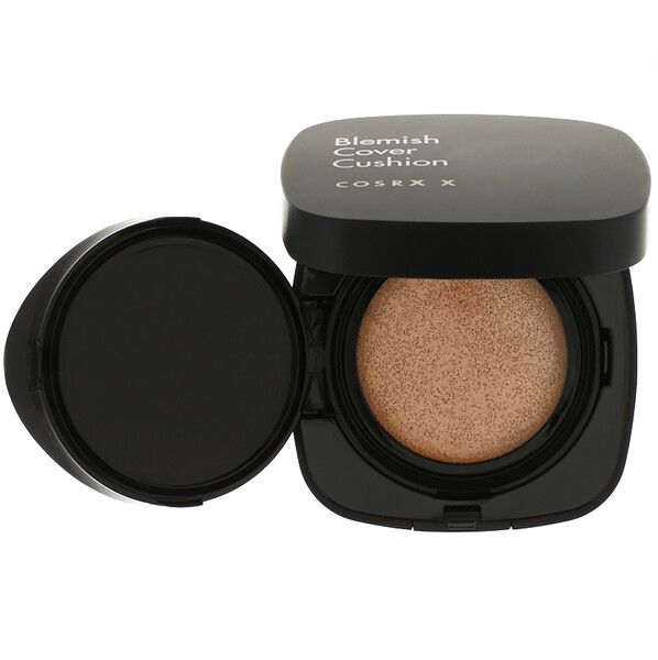 Cosrx, Clear Fit Blemish Cushion, SPF 47, 23 Natural Beige, 0.52 oz (15 g) (Discontinued Item)