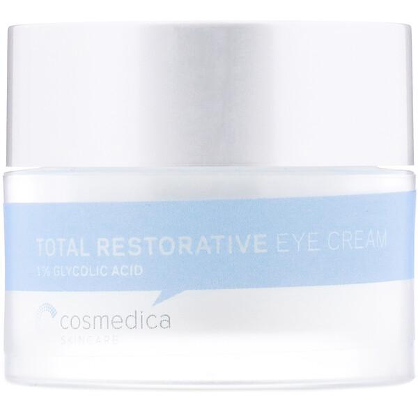 Cosmedica Skincare, Полностью восстанавливающий крем для кожи вокруг глаз, 0,7 унц. (20 г) (Discontinued Item)