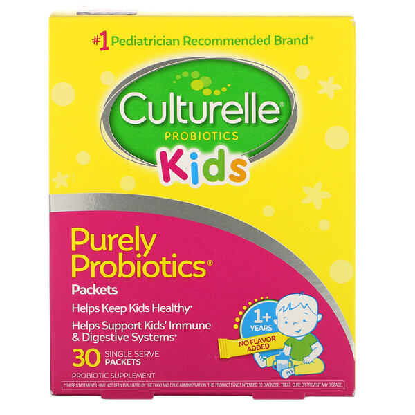 Kids, Purely Probiotics, 30 Single Serve Packets