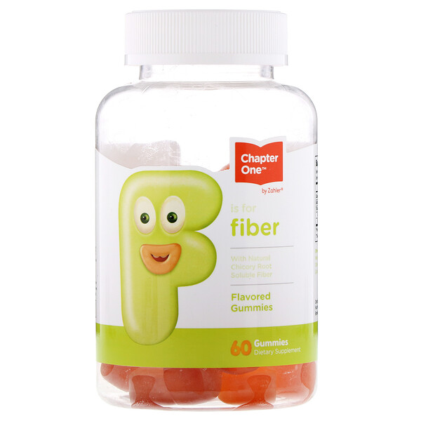 Chapter One, F Is For Fiber, Flavored Gummies, 60 Gummies (Discontinued Item)