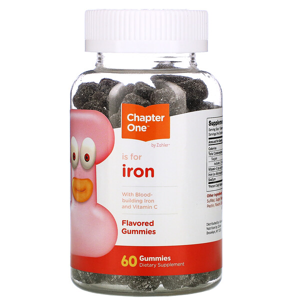 Chapter One, I is for Iron, 60 Gummies
