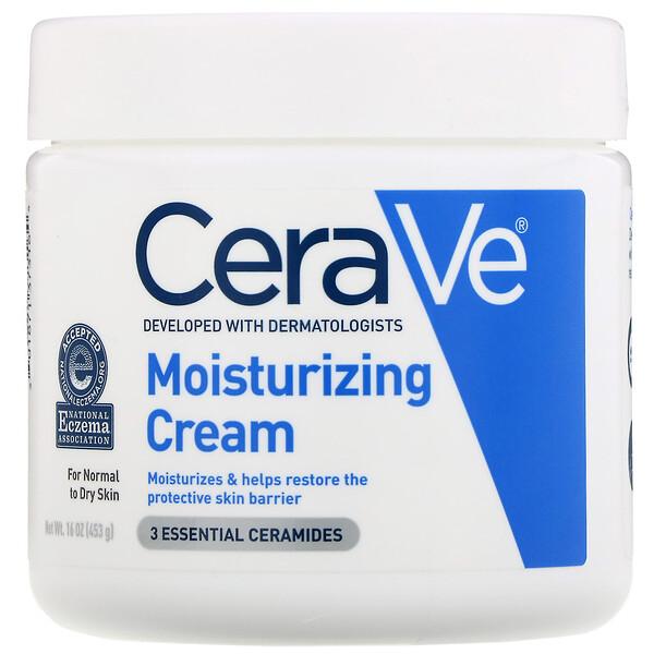 CeraVe, Увлажняющий крем, 16 унций (453 г) (Discontinued Item)