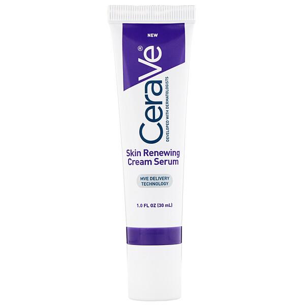 CeraVe, восстанавливающая крем-сыворотка для кожи, 30 мл (1 жидкая унция) (Discontinued Item)
