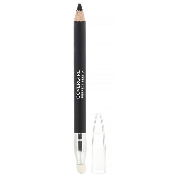 Perfect Blend, карандаш для бровей, оттенок 100 «Базовый черный», 0,85г (0,03 унции)