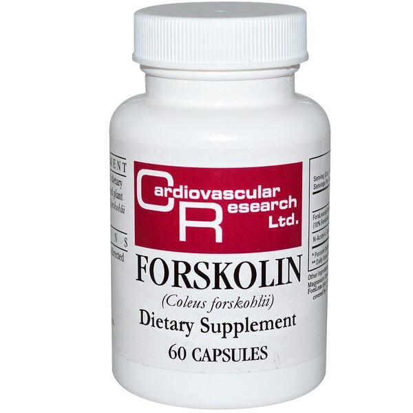 Cardiovascular Research, Форсколин, 60 капсул