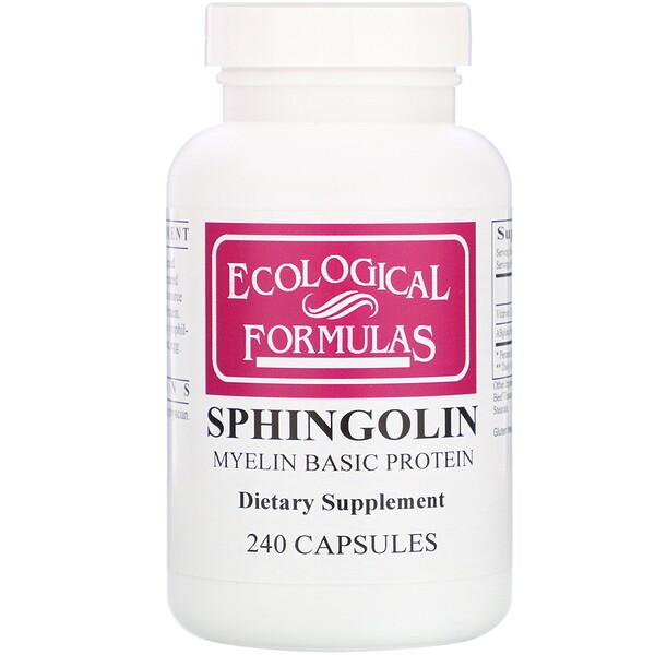 Cardiovascular Research, Sphingolin, Основной белок миелина, 240 капсул