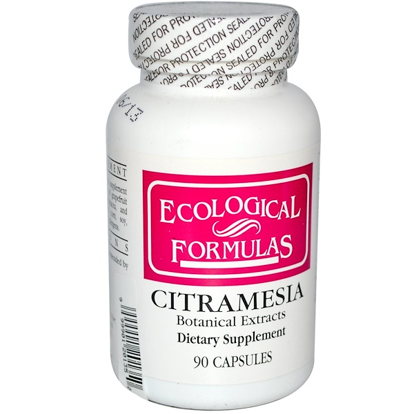 Cardiovascular Research, Ecological Formulas, Citramesia, Botanical Extracts, 90 Capsules (Discontinued Item)