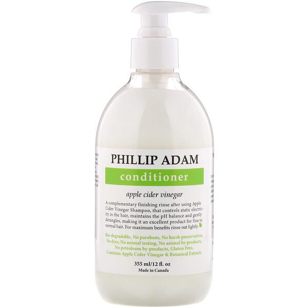 Conditioner, Apple Cider Vinegar, 12 fl oz (355 ml)