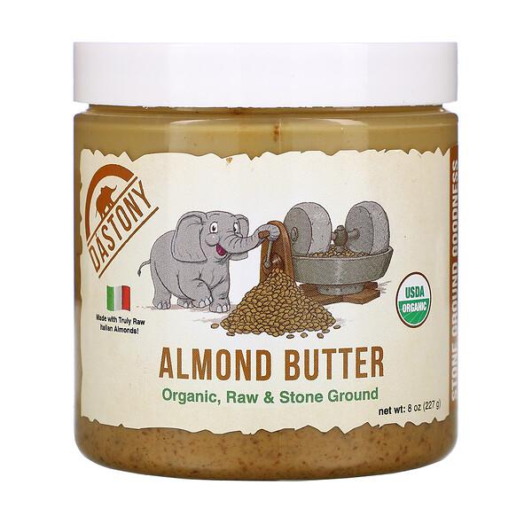 Dastony, Organic Almond Butter, 8 oz (227 g)