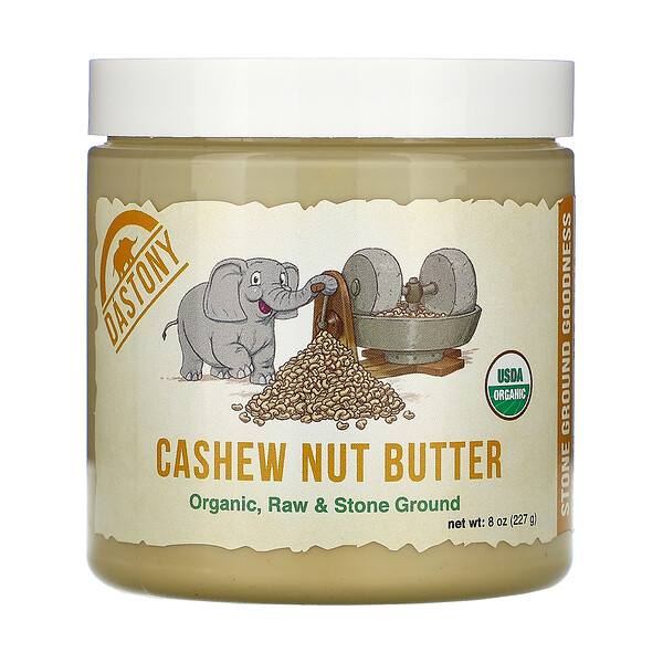 Dastony, Organic, Cashew Nut Butter, 8 oz (227 g)