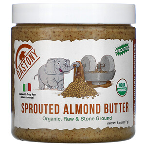 Dastony, Organic Sprouted Almond Butter, 8 oz (227 g)'