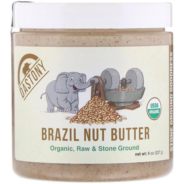 Dastony, 100% органическое масло бразильского ореха, 227 г (8 унций) (Discontinued Item)