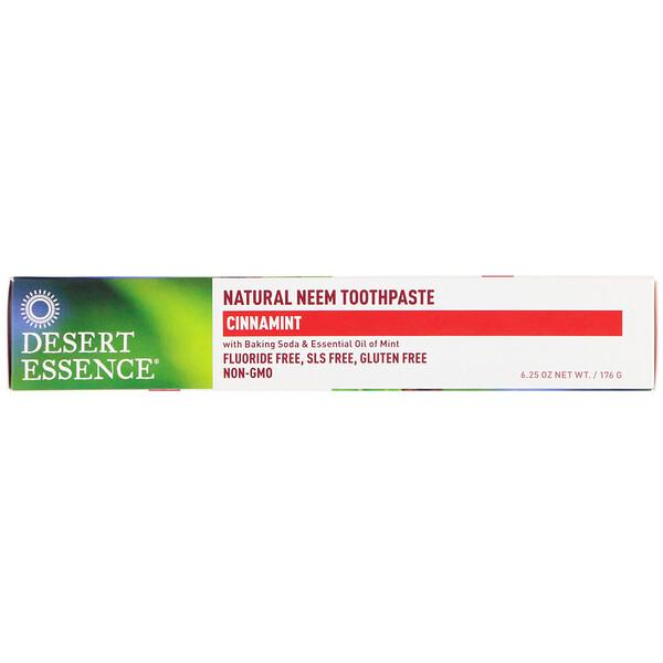 Натуральная зубная паста с нимом, Cinnamint, 6,25 унции (176 г)
