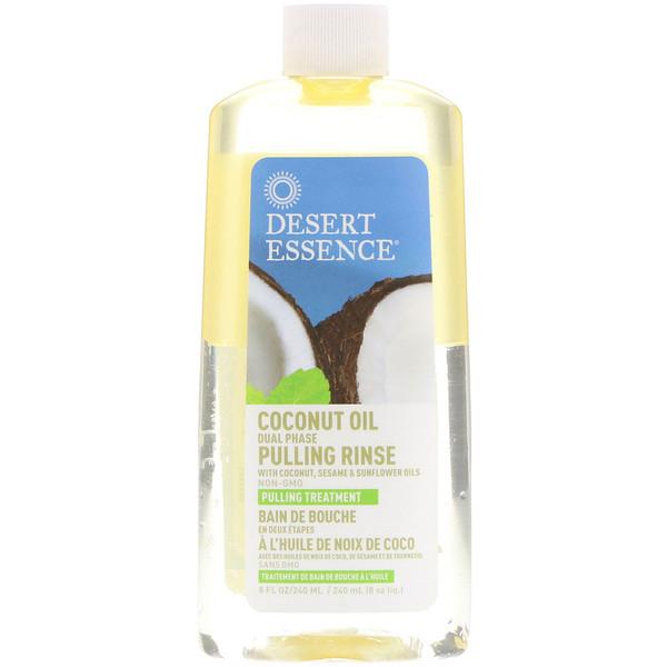 Coconut Oil Pulling Rinse, 8 fl oz (240 ml)