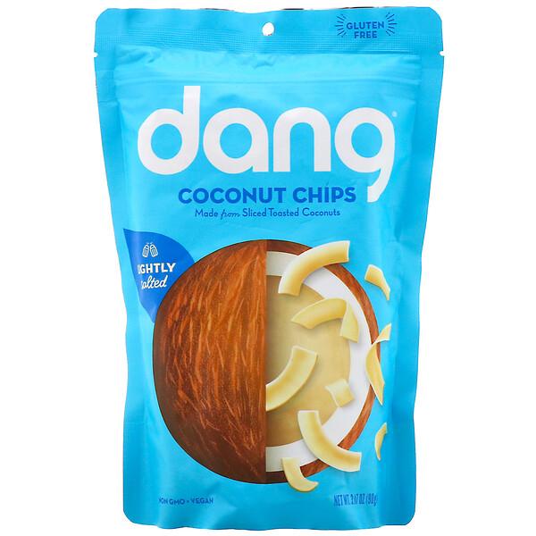 Coconut Chips, Lightly Salted, 3.17 oz (90 g)