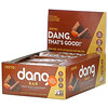 Dang, Keto Bar, Crazy Rich Chocolate with Sea Salt, 12 Bars, 1.4 oz (40 g) Each