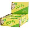 Dang, Кето-батончик, матча с лимоном, 12батончиков, по 40г (1,4унции) каждый