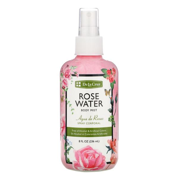 Rose Water Body Mist, 8 fl oz (236 ml)