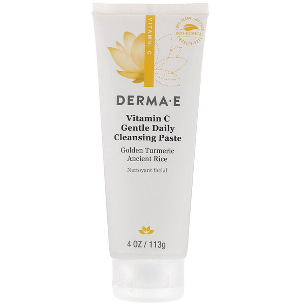 Vitamin C, Gentle Daily Cleansing Paste, 4 oz (113 g)