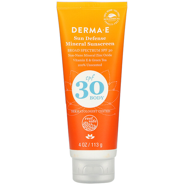 Sun Defense Mineral Sunscreen, SPF 30, 4 oz (113 g)