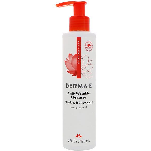 Очищающее средство против морщин, гликолевая кислота с витамином А, 175 мл (6 жидких унций)