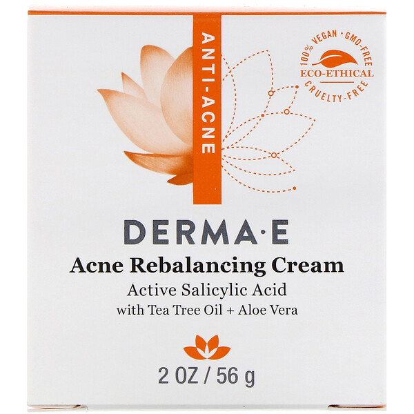 Acne Rebalancing Cream, Active Salicylic Acid , 2 oz (56 g)