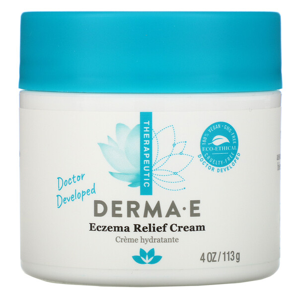 Eczema Relief Cream, 4 oz (113 g)