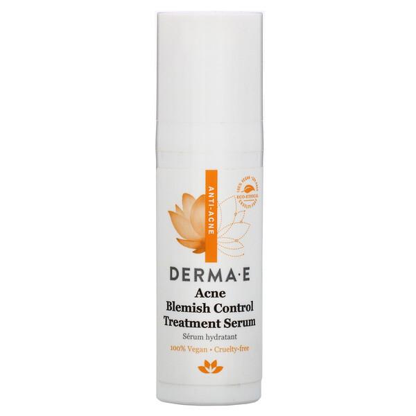 Derma E, Acne Blemish Control Treatment Serum,  0.5 fl oz (15 ml)
