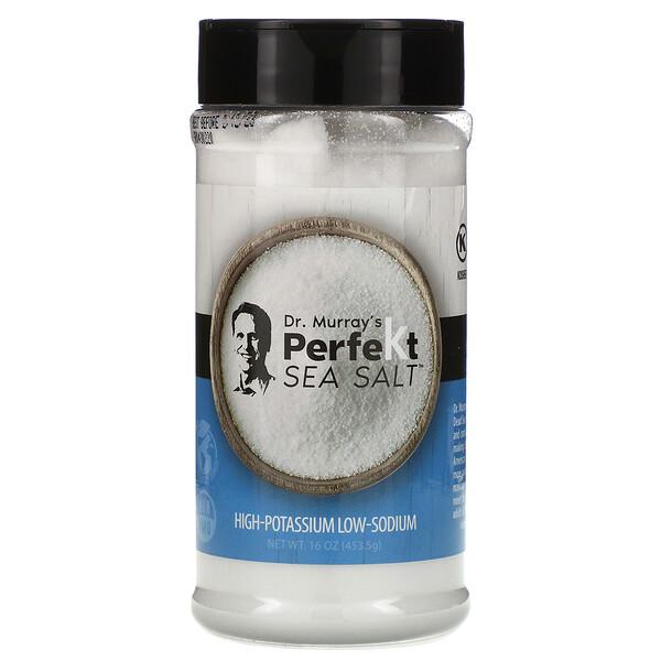 Dr. Murray's, PerfeKt Sea Salt, Low Sodium, 16 oz (453.5 g)