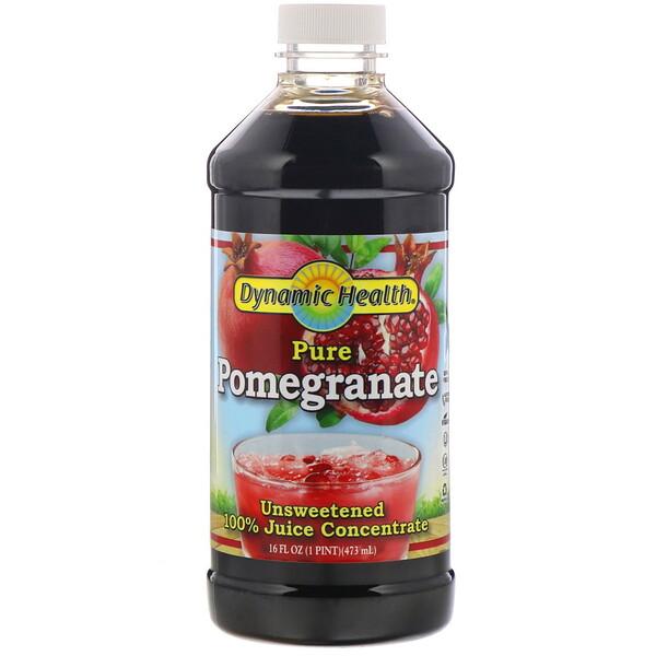 Чистый гранат, 100% концентрат сока, неподслащенный, 473мл (16жидк.унций)