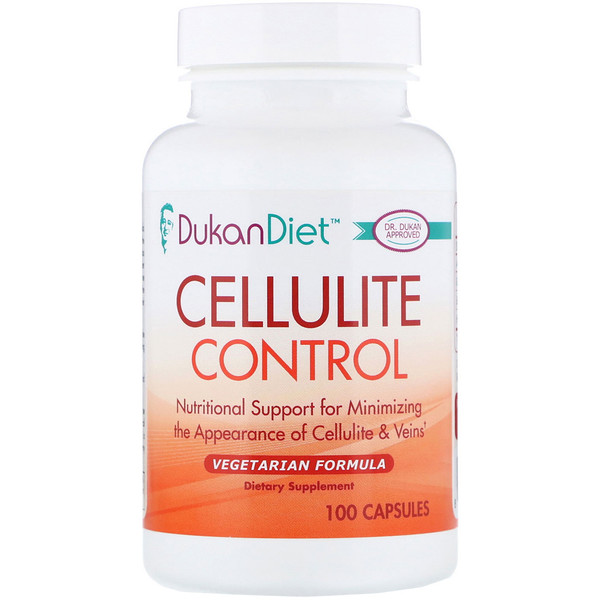 Dukan Diet, Контроль целлюлита, 100 капсул (Discontinued Item)