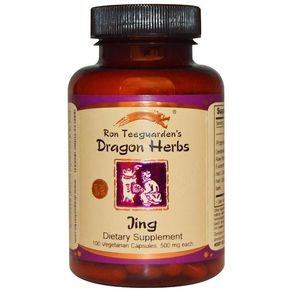 Jing, 500 мг, 100 растительных капсул