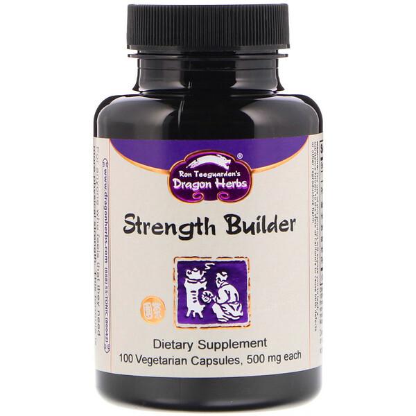 Strength Builder, 500 mg, 100 Vegetarian Capsules