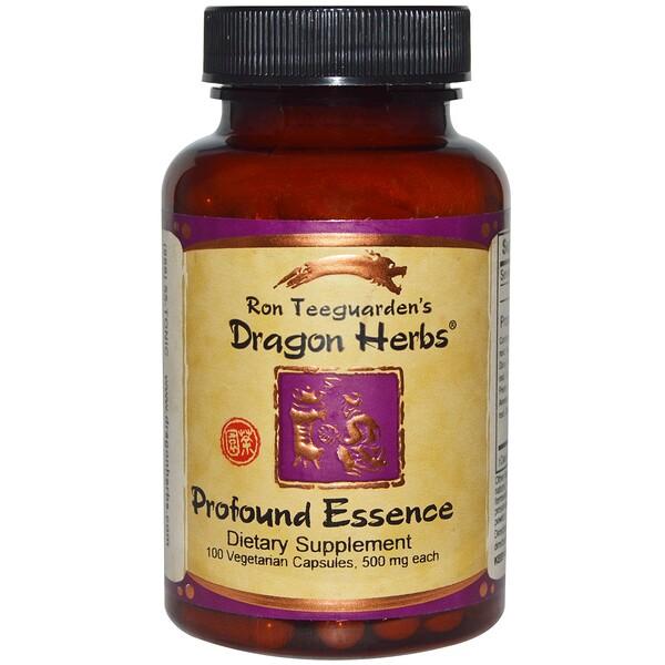 Энергетический тоник Profound Essence, 500 мг, 100 капсул