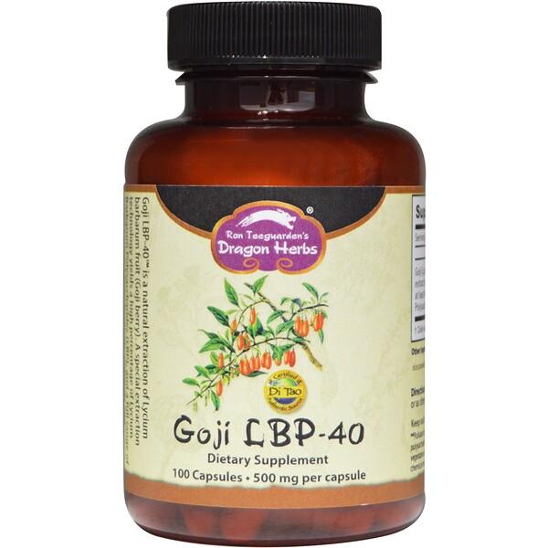 Годжи LBP-40, 500 мг, 100 капсул