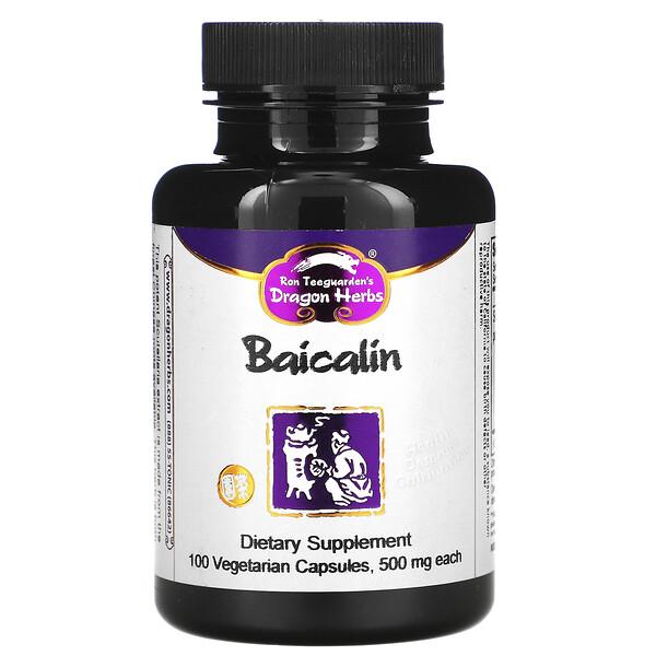 Байкалин, 425 мг, 100 веганских капсул