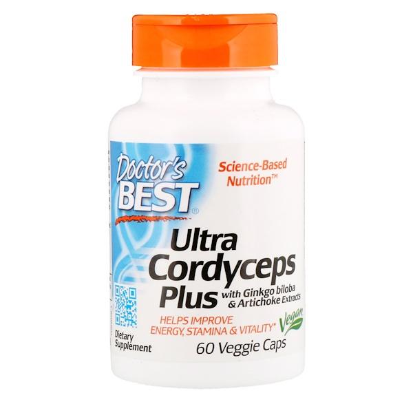 Ультра кордицепс плюс, 60растительных капсул
